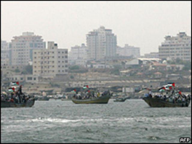 حالت السفن الإسرائيلية دون وصول المزيد من السفن إلى غزة طوال فترة الحرب