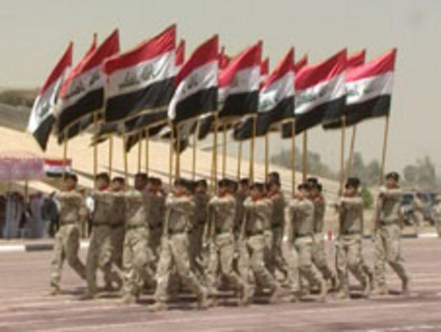 استعراض عسكري في بغداد