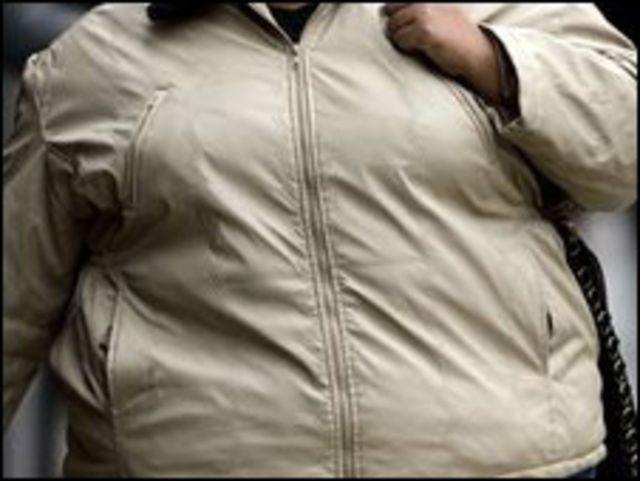 امرأة سمينة