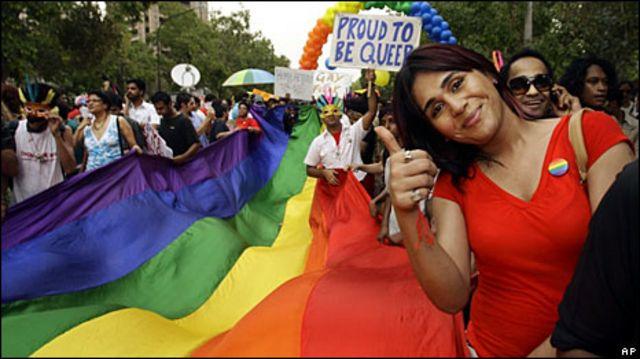 Гей-парад в Дели