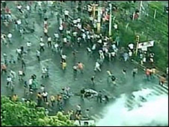 المظاهرات التي اعقبت الاطاحة بزيلايا