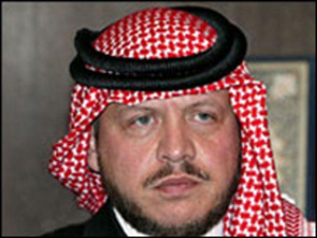الملك الاردني عبد الله