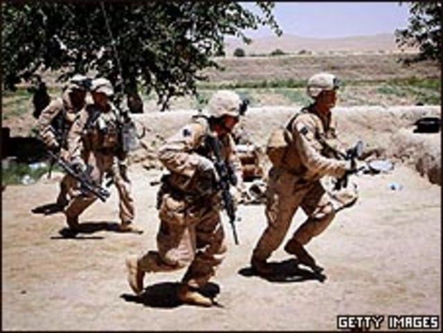 قوات المارينز في أفغانستان