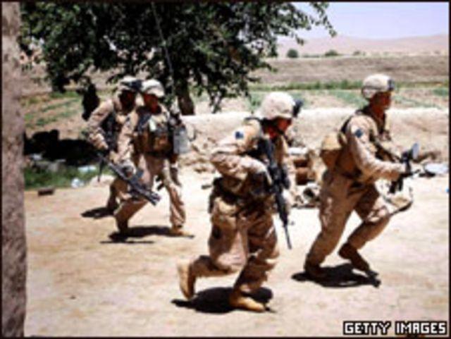 مشاة البحرية الأمريكية في أفغانستان (02/07/09)