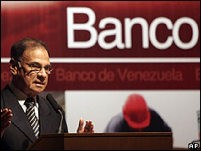 Alí Rodríguez, ministro de Finanzas de Venezuela