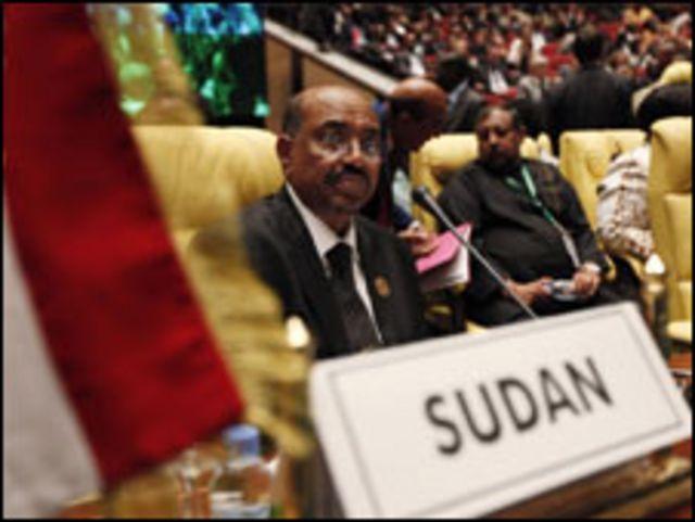 البشير خلال قمة الاتحاد الافريقي الأخيرة