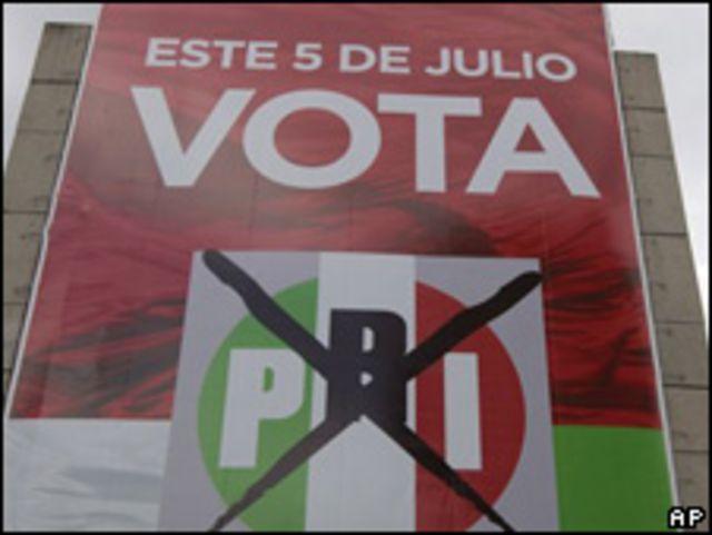 Campaña votar PRI