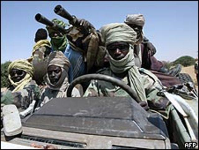 مسلحون من حركة العدل والمساواة في دارفور