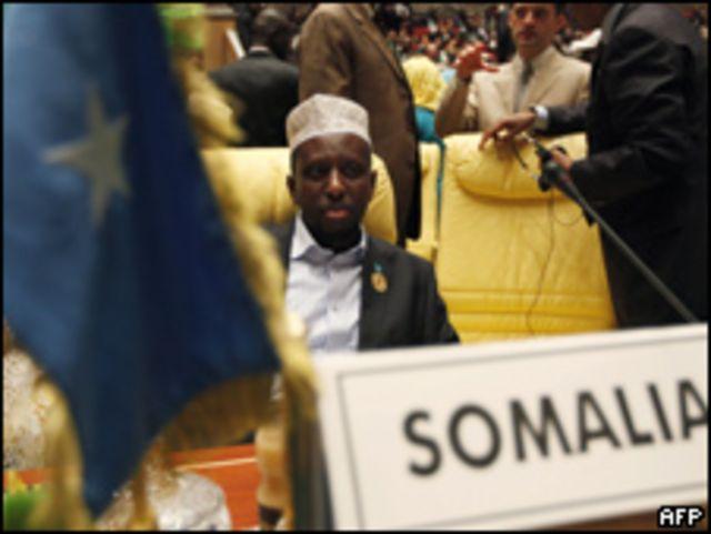 الر ئيس الصومالي
