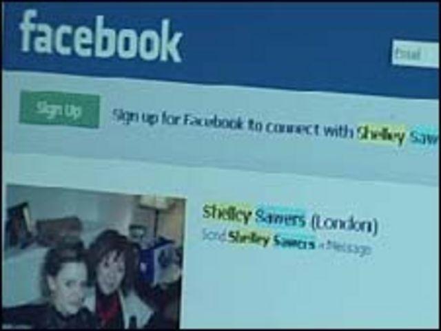 """Página de """"Lady Sawers"""" en Facebook"""