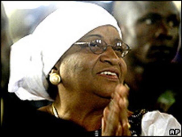 رئيسة ليبيريا إيلين جونسون-سيرليف