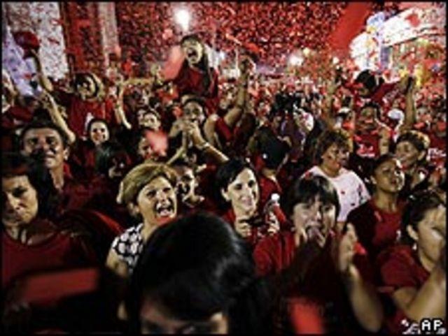 Simpatizantes del PRI celebran el triunfo en Sonora