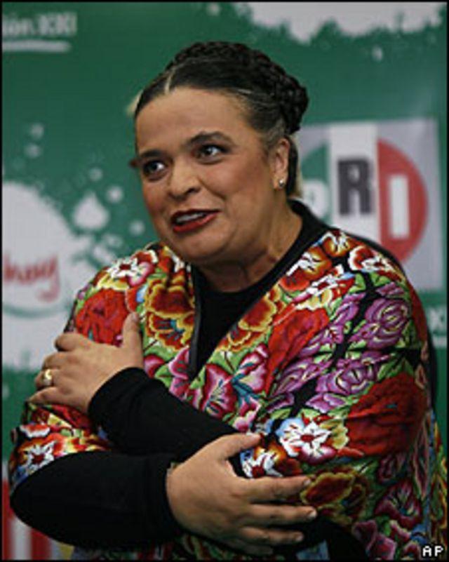 Beatriz Paredes, presidenta del PRI