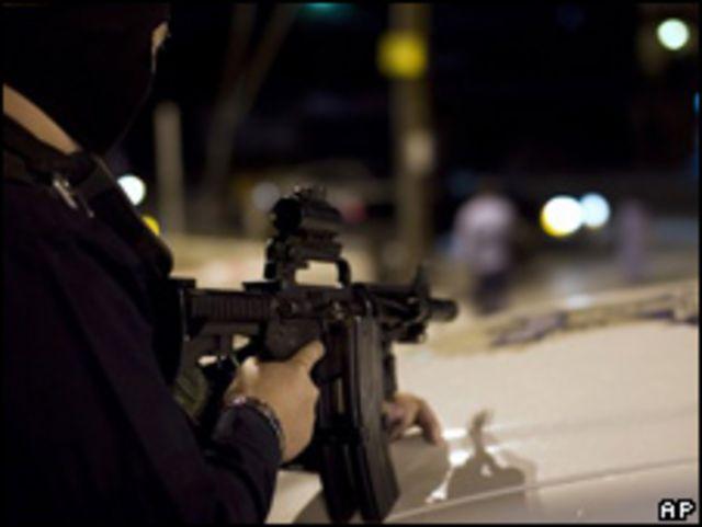 Operativo de seguridad en México.