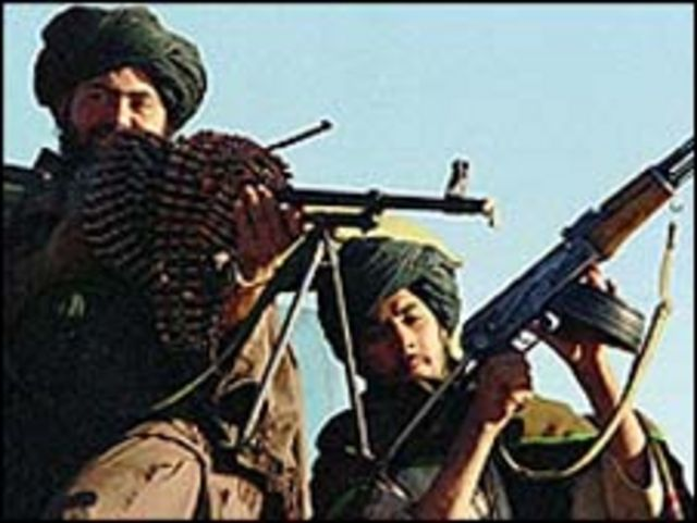 مسلحون من حركة طالبان