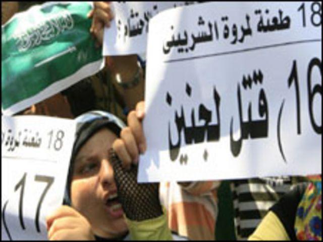 احتجاجات على مقتل مروة الشربيني
