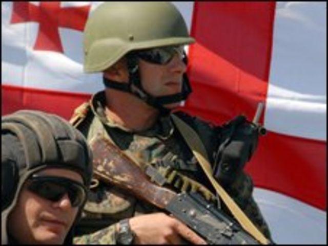 جنديان جورجيان