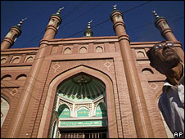 Mezquita en Urumqi