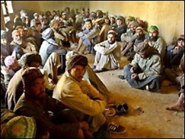 سجناء طالبان