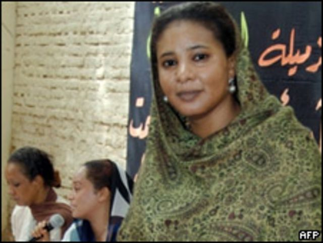Журналист Лубна Ахмед Хусейн