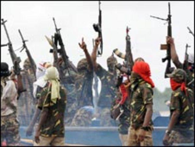 متمردون نيجيريون