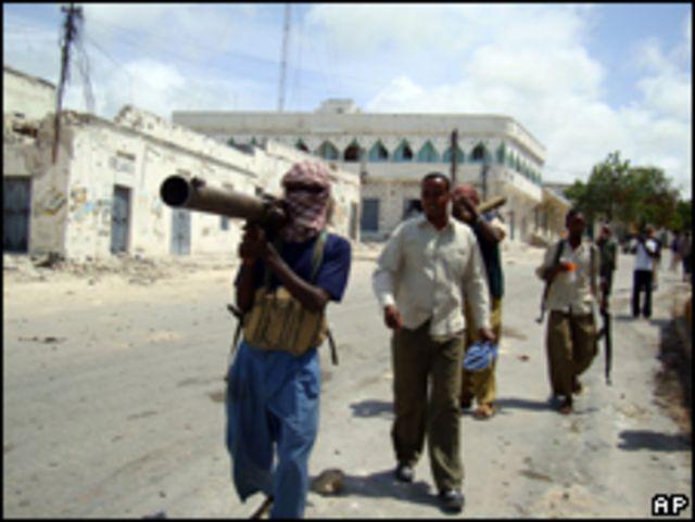 مسلحون صوماليون