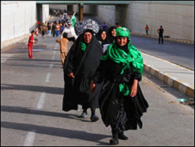 تستمر الاحتفالات الدينية حتى يوم السبت في مرقد الإمام الكاظم