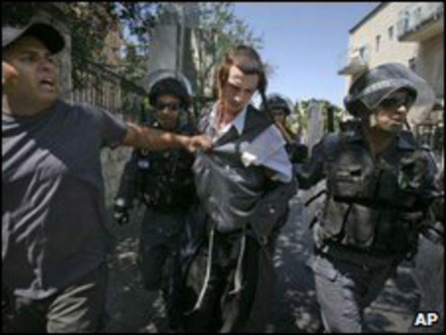 أعمال شغب في القدس