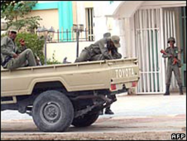 قوات عسكرية موريتانية