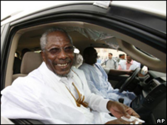 المرشح، مسعود ولد بلخير، رئيس مجلس النواب الموريتاني