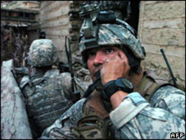 جندي أمريكي في أفغانستان (12/07/09)
