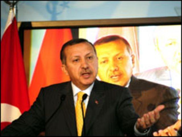 رجب طيب أردوجان رئيس الوزراء التركي
