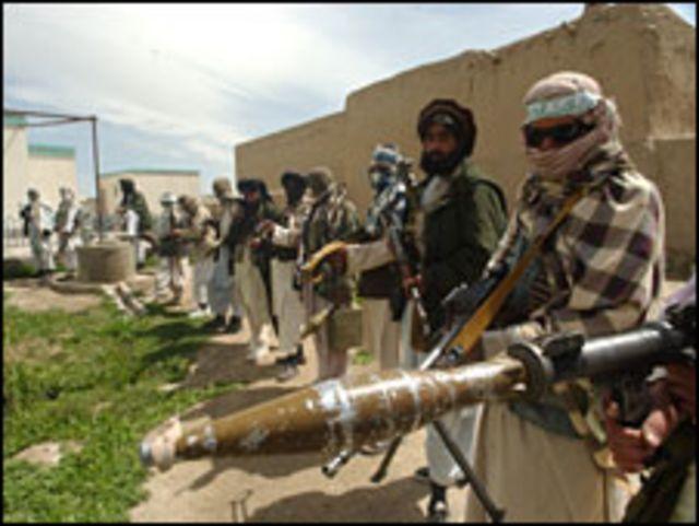 مقاتلون من طالبان افغانستان