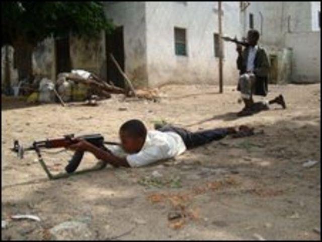 تجنيد الأطفال في الصومال