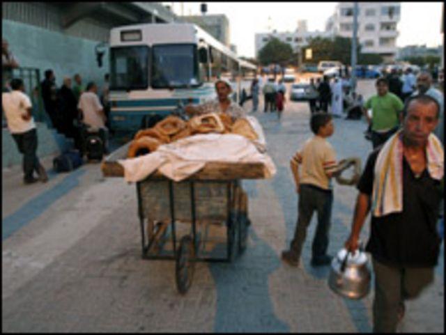 معبر رفح بين مصر وغزة