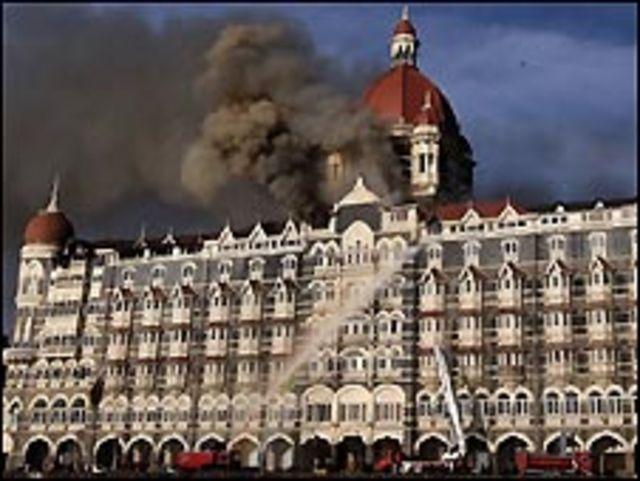 فندق هوجم بمومباي