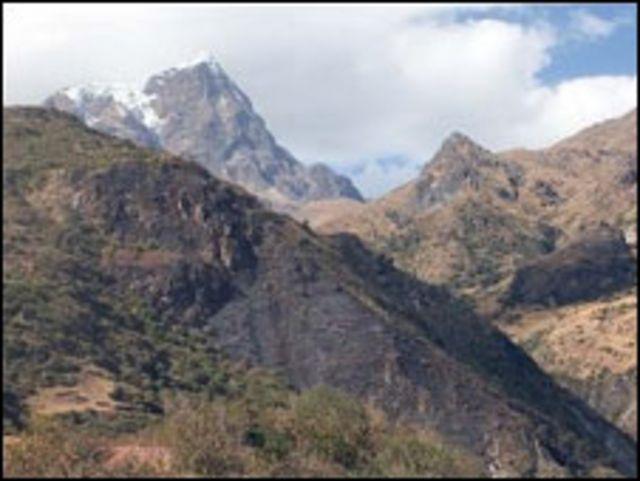 Glaciar del Ilimani