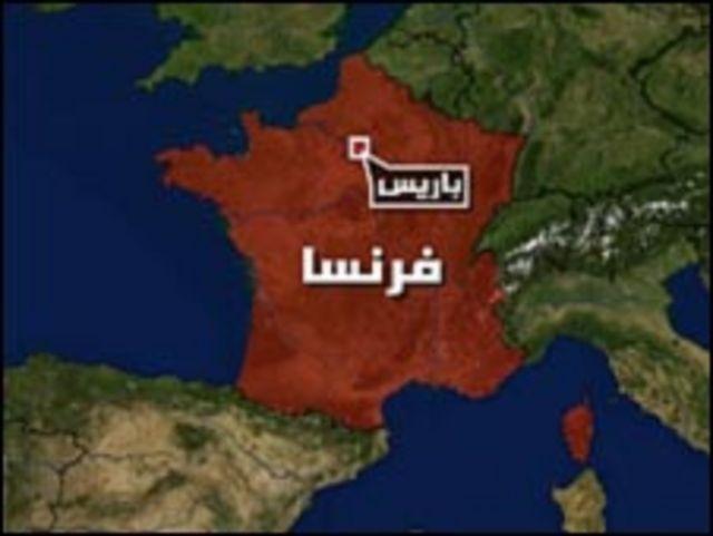 خريطة فرنسا