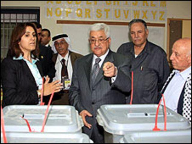 الرئيس الفسطيني محمود عباس