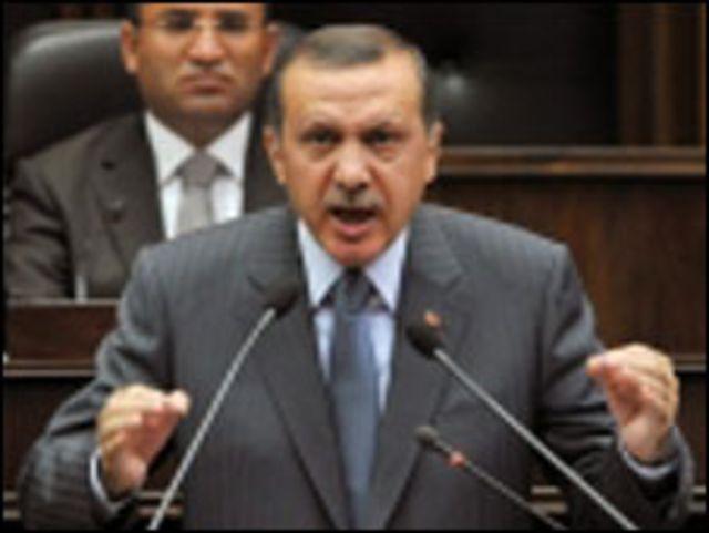 رئيس الوزراء التركي، طيب رجب إردوجان