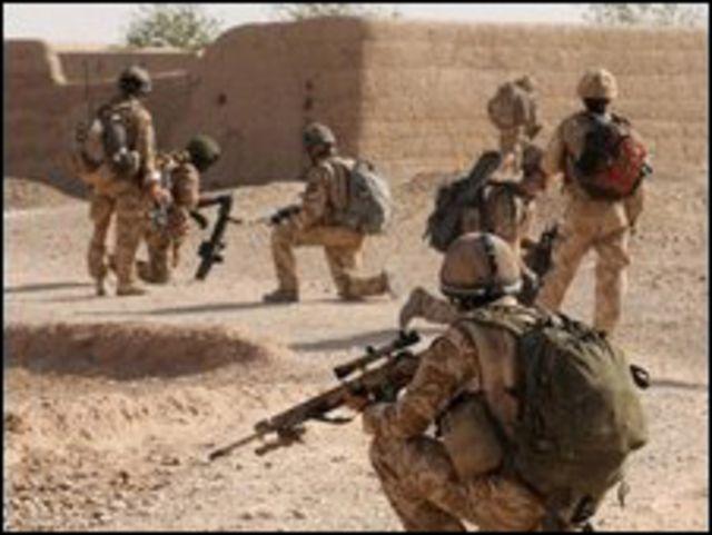 القتال في أفغانستان