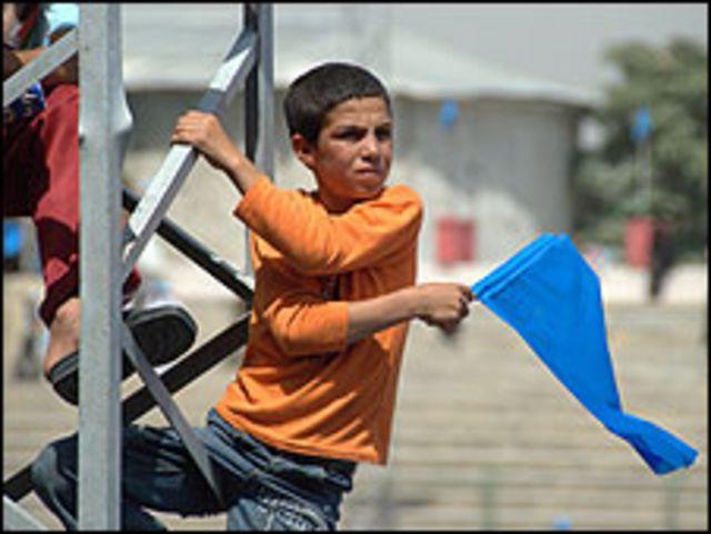 صبي افغاني (ارشيف)