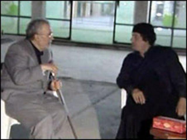 المقرحي والقذافي