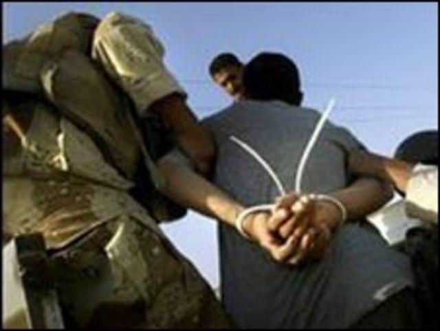 معتقل عراقي في بعقوبة