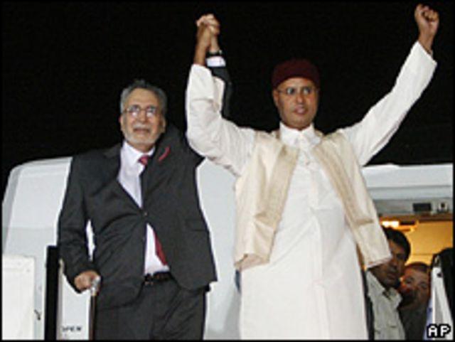 Меграхи в Ливии