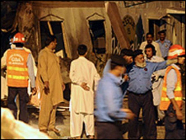 انفجارات مستمرة في باكستان