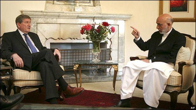 ریچارد هولبروک، نماینده ویژه آمریکا  در امور افغانستان و پاکستان برای بهبودی روابط کابل- اسلام آباد تلاش کرد