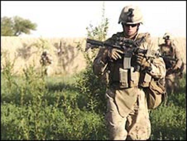 افغان حکومت بيا بيا په يوه مخ د شپنيو او هوايي عملياتو د بندېدو غوښتنه کړې،