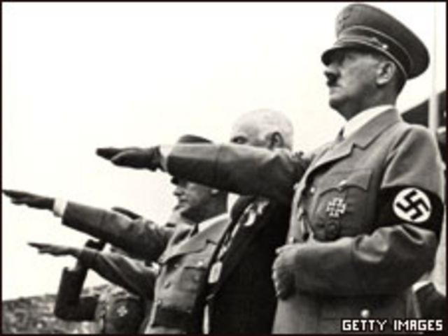 Гитлер на Берлинской Олимпиаде 1936 года