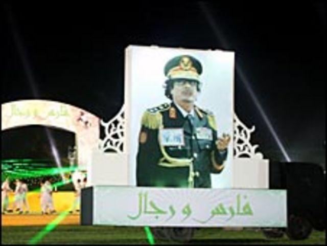 احتفالات ليبيا بذكرى الثورة الاربعين